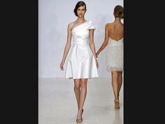 Vestido de noiva curto: