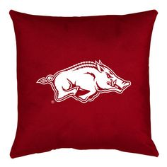 Arkansas Razorbacks Locker Room Pillow