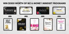 Bizversary Giveaway by Elise McDowell. Hosted by KingSumo Giveaways Online Entrepreneur, Business Entrepreneur, Fun Projects, Project Ideas, Make Money Online, How To Make Money, Creating A Business, Blogging For Beginners, Blog Tips