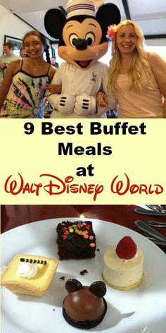 Buffet meals at Disney World
