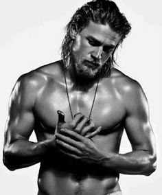 Jax Teller - there is something about this guys voice that gets me every time! Lol.