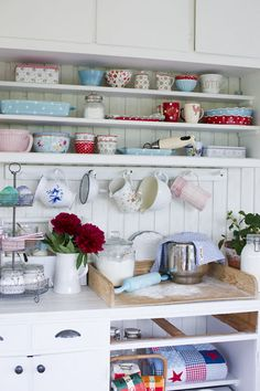 Rural home - though kitchen is the only room I could imagine having a modern one of, I prefer the vintage style and most rural designs!
