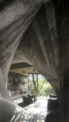 Archi-Union Architects designed the Tea House in the backyard of their office in Shanghai, China