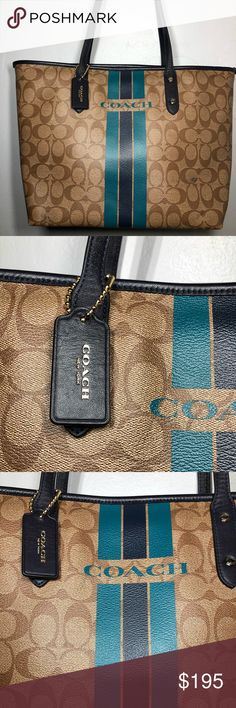 I just added this listing on Poshmark: 🔥 NEW Authentic Coach Signature City ZIP Tote. Coach Handbags, Coach Bags, Plus Fashion, Fashion Tips, Fashion Design, Fashion Trends, Must Have Items, Makeup Inspo, Womens Tote Bags