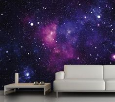 Galaxy Fleece Wall Mural Home