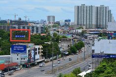 Mountain view from our guestroom 600 THB Ruenthip Pattaya เรือนทิพย์พัทยา