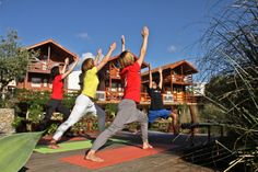 Yoga outside <3 Learn To Surf, Camps, Portugal, The Outsiders, Surfing, Yoga, Surf, Yoga Tips, Surfs