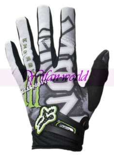 Fox Racing Monster Motocross Bmx Cycling Gloves M L Xl Fox Racing Cycling Gloves Sportswear