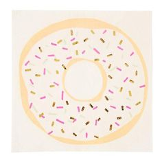 Donuts are just an excuse to eat cake for breakfast and we are not complaining. These donut napkins feature colorful sprinkles and foil details. > Includes 16 napkins > Size: > Designed in England by Meri Meri Party Napkins, Napkins Set, Sweet Party, Cute Donuts, Photo Booth Frame, Donut Party, Party Kit, Baby Sprinkle, Etsy App