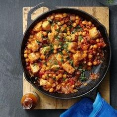 Middle Eastern Chicken & Chickpea Stew - EatingWell.com