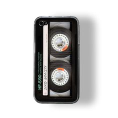 iPhone 4/4S Case Retro Cassette now featured on Fab. - Would have this if I had an iPhone!