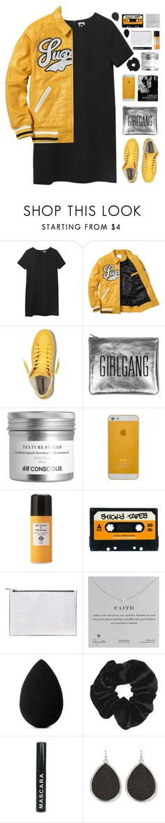 """""""Stud"""" by amazing-abby ❤ liked on Polyvore featuring Sarah Baily, Acqua di Parma, ASOS, Aspinal of London, Dogeared, beautyblender and Topshop"""