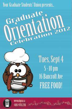 GSU BBQ: Orientation Celebration 2012