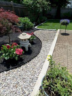 24 Beautiful Front Yard Rock Garden Ideas