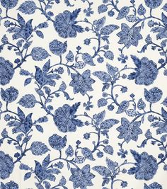 Home Decor 8''x 8'' Fabric Swatch Jaclyn Smith Dunbar-IndigoHome Decor 8''x 8'' Fabric Swatch Jaclyn Smith Dunbar-Indigo,