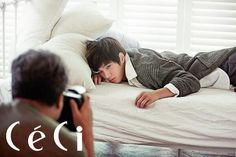 L (MyungSoo) ♡ - Ceci Magazine November Issue Kim Sung Kyu, Lee Sung, Korean Star, Korean Men, L Real Name, Kim Myungsoo, L Infinite, Dong Woo, Nam Woo Hyun
