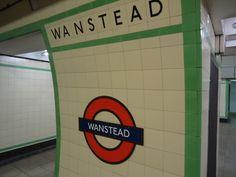 :: Wanstead underground station, near to Wanstead, Redbridge, Great Britain by Stacey Harris Metro Subway, Warm Fuzzies, Metro Station, Scotland Travel, East London, Great Britain, Childhood Memories, Ham, Old Things