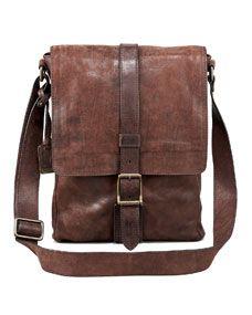 Logan Leather Messenger Bag, Small