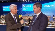 """Markus Söder zum CSU-Machtwechsel: """"Werden kein 'Bavaria First' machen"""" Interview, Bavaria, Videos, Suit Jacket, Breast, Suits, Live, Jackets, Instagram"""