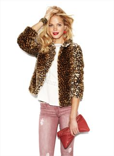 Erin Heatherton for SuiteBlanco Fall-Winter 2012/2013 Campaign