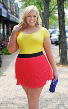 Plus size mini skirts dresses