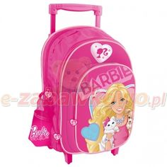STARPAK PLECAK NA KÓŁKACH BARBIE 308367 Lego, Barbie, Backpacks, Women's Backpack, Legos, Barbie Dolls, Backpack