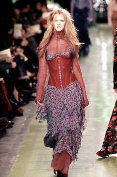 VFILES | Betsey Johnson Kirstie Alley, Rose Colored Glasses, Betsey Johnson Dresses, New Look, High Fashion, Ready To Wear, Runway, Bohemian, Lace