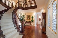 "...want this staircase with wine ""cellar/closet"" built into the wall under it"