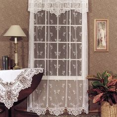 Luxury Farmhouse Lace Curtains