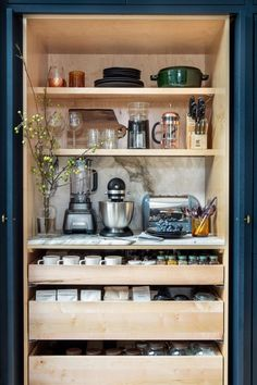 Home Interior Diy .Home Interior Diy Home Decor Kitchen, Kitchen Interior, New Kitchen, Home Kitchens, Tuscan Kitchens, Kitchen White, Kitchen Pantry, Home Coffee Stations, Pantry Design