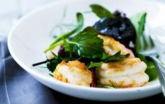 En frisk salat med jomfruhummer og masser af citron. Frisk, The Dish, Starters, Love Food, Menu, Favorite Recipes, Cheese, Dishes, Chicken