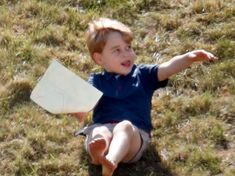 Kate Middleton Comforted Prince George at a Polo Match and the Pictures are Adorable Prince George Photos, Photos Of Prince, Prince William And Kate, Happy 2015, Polo Match, Rare Photos, Kate Middleton, Charity, Childhood