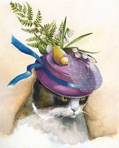 Cat Easter Bonnet