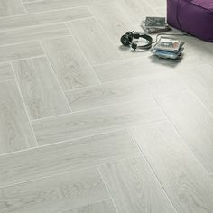 Spruce up your home with the SomerTile Finca Perla Ceramic Floor and Wall Tile that has a beautiful wood pattern. The tile finishing has a beautiful light grey glaze, with the faux w Glazed Tiles, Glazed Ceramic, Ceramic Floor Tiles, Wall Tiles, Wood Look Tile, Wood Patterns, Fireplace Surrounds, Stone Tiles, Home Depot