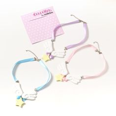 From the sweet Japanese fashion brand milklim comes a cute new necklace that even a magical girl would want! This Angel Milk Wing Star Ribbon Necklace is available in light pink, lavender, and light blue. Each features a big and bold star as the centerpiece, which is added to using shojo-style wings! Even if you aren't going out to fight evil, you'll love this necklace too much to leave home witho... #jfashion #kawaii