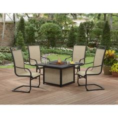 New Better Homes and Gardens Table Set