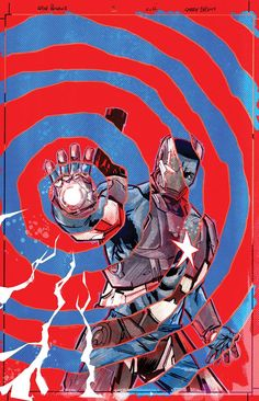 Iron Patriot by Gary Frank *