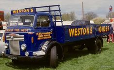 Commer QX. Weston's Cider.