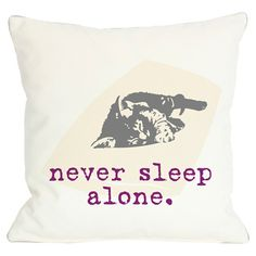 Complemented by a pet-themed typographic motif on the back, this delightful pillow charms with a sleeping cat-detailed design. Pr...