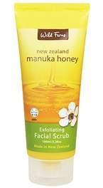 Manuka Honey Facial Scrub - 100gm - Wild Ferns : New Zealand Honey ...