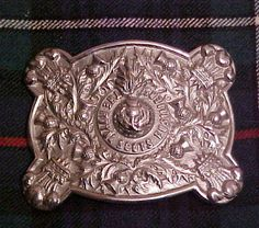 The Royal Scots Fusiliers post 1881 Piper's belt clasp.
