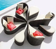 Un canapé modulaire inspiré para la nature