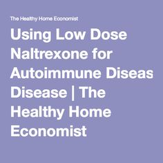 low dose naltrexone and thyroid disease