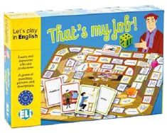 That's my Job! Thing 1, Play, English Vocabulary, My Job, Sentences, Board Games, How To Memorize Things, Language, Words