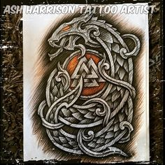 Эскизы Язычество Norse Mythology Tattoo, Norse Tattoo, Celtic Tattoos, Viking Tattoos, Viking Tattoo Sleeve, Armor Tattoo, Viking Symbols, Viking Art, Celtic Dragon