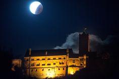 Die Wartburg bei Nacht. Foto: Sascha Fromm