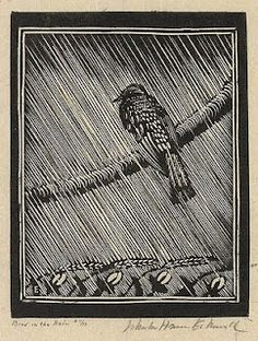 Wharton Harris Esherick. Woodcut.