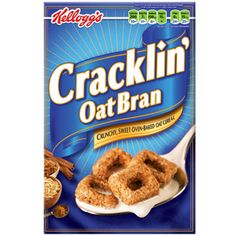 I discovered this cereal in college and it was my go to snack (for my diet) kracklin oat bran until I realized WHY it was so freaking good (all the sugar and oil)!!!