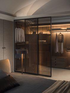 Wardrobe Room, Wardrobe Design Bedroom, Room Design Bedroom, Home Room Design, Closet Bedroom, Home Decor Bedroom, Home Interior Design, Closet Space, Modern Luxury Bedroom
