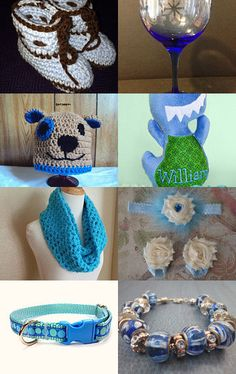 Our Beautiful Etsy Finds Week 4 Part 1 (I'm So Blue) by Andrea Murray-Boone on Etsy--Pinned with TreasuryPin.com